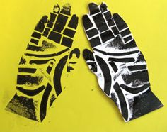 Easy, approachable printmaking for all ages. many adaptations in relation to diversity and acceptance from: Mrs Crosbie