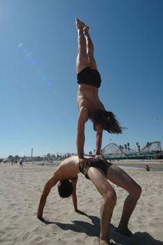 really cool and impressive yoga poses on pinterest  yoga