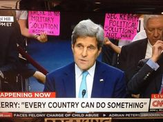 CODEPINK: Take Action Now! Join us to tell Secretary Kerry: Act like a diplomat, not a war hawk!
