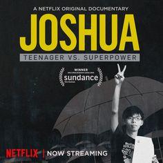 Joshua Wong Netflix Originals, The Originals, Joshua Wong, Yellow Umbrella, Super Powers, Revolution, Documentaries, Film Festival