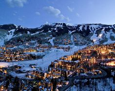Aspen. I must snowboard here before I die. MUST.