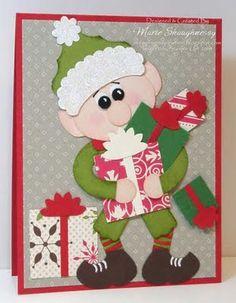 KREATION KORNER: Jolly Elf Punch Art