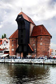 Żuraw #crane #gdansk