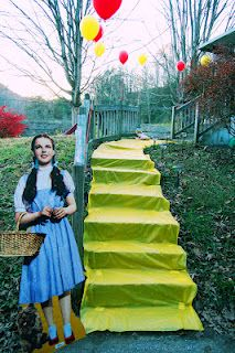 My daughter, Amanda, did this amazing party.  Love her ideas and blogs..well...and HER.  :) The Wizard of Oz Extravaganza!!!  Wizard of Oz Birthday Party ideas :)