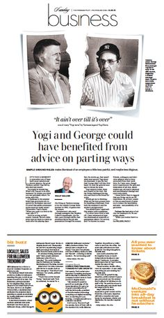 The Virginian-Pilot's Business front page for Sunday, Oct. 25, 2015.