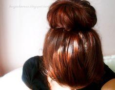 Longs Cheveux au Naturel: Tutoriel coiffure : le sock bun ou donut bun avec plus de volume