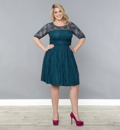 I like this dress----Plus size wedding guest dress. You know, cause I will be there and I wanna look cute!