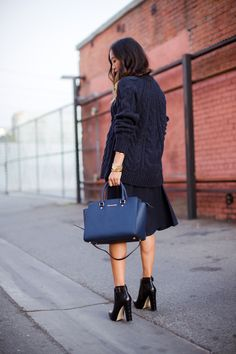 song-of-style-sweater-midi-skirt-ankle-boots-michael-kors