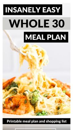 Whole 30 Meal Plan, Whole 30 Diet, Easy Meal Plans, Easy Meals, Whole Food Recipes, Healthy Recipes, Easy Whole 30 Recipes, Sweet Potato Frittata, Easy Pulled Pork