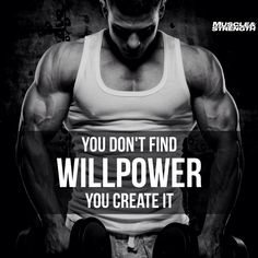 Bodybuilding is a sport of building muscle. Bigger and stronger is the name of the game. One of the great things about bodybuilding is that you can achieve great results with only very basic equipment Sport Motivation, Fitness Studio Motivation, Fitness Motivation, Fitness Quotes, Fitness Goals, Health Fitness, Daily Motivation, Workout Quotes For Men, Motivation Success