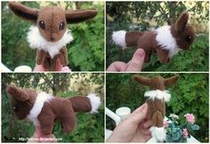 Eevee plush pattern by ~Tedimo on deviantART