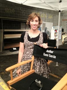 My chair at the set #beautifulcreatures #YAbooks #books #kamigarcia #movies