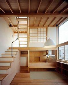 Home dreams  | Kousuke Izumi Architects Loft, Bed, Furniture, Home Decor, Homemade Home Decor, Lofts, Stream Bed, Home Furniture, Attic