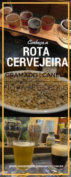 Rota Cervejeira na Serra Gaucha Brazil Tourism, Rio Grande Do Sul, We Are The World, Copycat Recipes, Vacation Trips, Container Gardening, Mexican Food Recipes, Nutella, Brewing