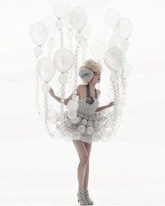 Strange Yet Funny Balloon Dresses