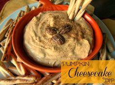 5 Minute Pumpkin Cheesecake Dip - EASY! Only 5 ingredients!