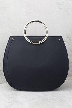 Melie Bianco Cameron Black Handbag 3