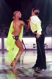Riccardo and Yulia Samba