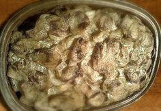 Rakott máj pataki tálban Paleo, Healthy Recipes, Chicken, Desserts, Food, Diet, Tailgate Desserts, Deserts, Essen
