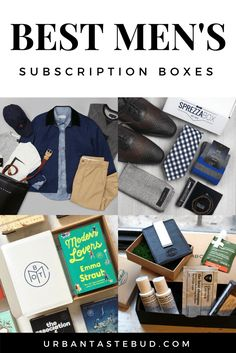 45 Best Subscription Boxes for Men in 2019 These subscription boxes make the perfect gift for the man in your life! From the latest in fashion to quality shaving tools to easy, healthy meals, every guy will fall in love these subscription boxes.