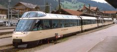 Original Crystal Panoramic livery of Arst and As now Bs Zweisimmen, 17 July 1993 Swiss Railways, Standard Gauge, Speed Training, High Speed, Crystal, Locomotive, Crystals
