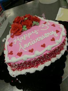Strawberry Heart Cake ♥