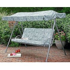 Garden Treasures North Haven 3 Seat Steel Traditional