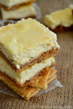 These rich and creamy Perfect Cheesecake Bars are truly the BEST and EASIEST cheesecake bars you'll make! They turn out perfect every time!