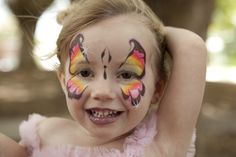 Fairy Face Painting Birthday Party