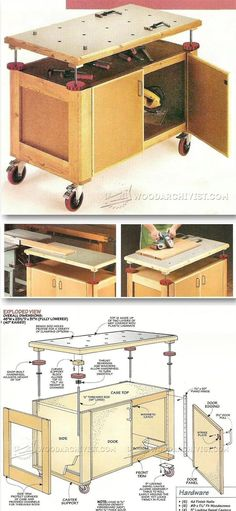 Assembly Table Plans - Furniture Assembly Tips, Jigs and Techniques   WoodArchivist.com