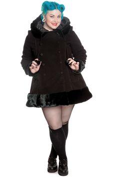 a3a2e5662eadb Hell Bunny Sarah Jane coat Gothic Coat