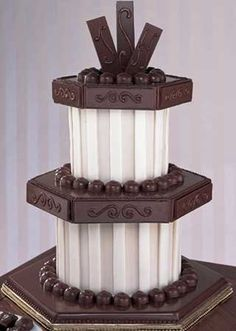 Google Image Result for http://www.wedding-flowers-and-reception-ideas.com/images/chocolate-wedding-cake01.jpg