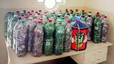 Cerca de 350 mil lacres de latinhas de alumínio foram entregues na quarta-feira (8) à escola municipal Nephtali Vieira Júnior, em Rio Claro