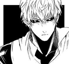 One Punch Man Anime, Anime One, Anime Manga, Saitama, Genos Wallpaper, One Punch Man 2, Male Profile, Anime Monochrome, Volleyball Anime