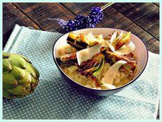 La cocina de Vifran: Risotto de alcachofas