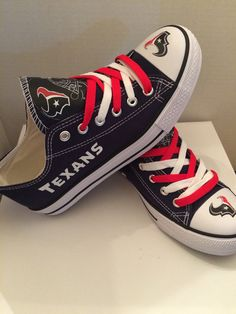 Houston texans unisex tennis shoes please read description before purchasing