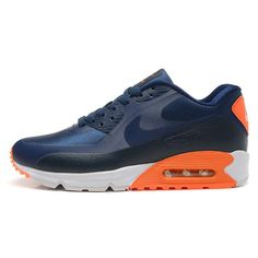 premium selection 4544d 1cb1c Nike Air Max 90 HYP PRM Dragon and Phoenix Men s Running Shoes Navy Blue