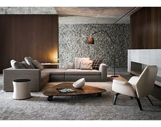 Incredibly Minimalist Contemporary Living Room Design Ideas – Page 28 – Home Decor Ideas Sofa Design, Furniture Design, Smart Furniture, Luxury Furniture, Design Design, Furniture Ideas, Modern Design, Living Room Designs, Living Spaces