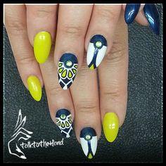 Moschino II nail art by Blu