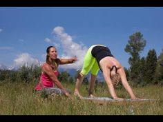 ▶ A YogaToday Quick Tip with Adi Amar. Building a strong downward facing dog. - YouTube