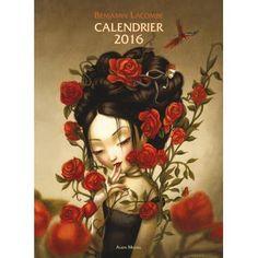 Calendrier 2016 Benjamin Lacombe : j'adore tout ce qu'il fait, et ce calendrier ne déroge pas à la règle...