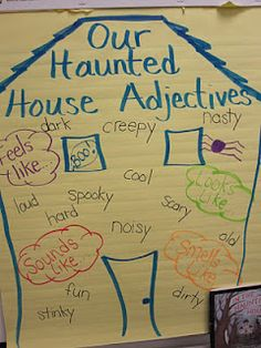 Haunted House Adjectives