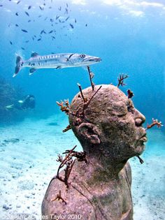 Underwater sculpture by Jason de Caires Taylor