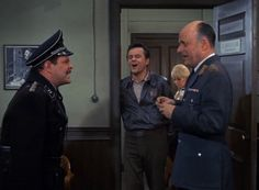 This is literally Hogan's Heroes in one picture.