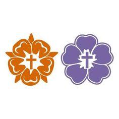 Flower Cross SVG Cuttable Designs