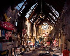 Post-apocalyptic chapel