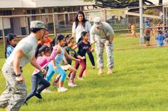 DFMWR's Child, Youth & School Services Sports and Fitness Programs are for children ages 5-18. Child participating in the program must either be a family member of active duty military personnel, retired military personnel or a DOD civilian in Hawaii.