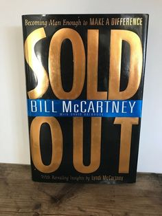 Sold Out By Bill McCartney, Hardcover Bill Frisell, Hotel California, Fiction Novels, Life Is An Adventure, Love To Shop, Direct Sales, Pink Floyd, Paperback Books