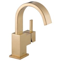 Buy the Delta Champagne Bronze Direct. Shop for the Delta Champagne Bronze Vero Single Hole Bathroom Faucet with Pop-Up Drain Assembly - Includes Lifetime Warranty and save. Gold Bathroom Faucet, Single Handle Bathroom Faucet, Brass Faucet, Widespread Bathroom Faucet, Lavatory Faucet, Master Bathroom, Bathroom Fixtures, Kitchen Faucets, Shower Faucet