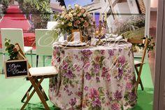 Country style para La Masía de las Estrellas. Flowers centerpiece and decorative details. Centro de mesa floral, y detalles decorativos como marcasitios, candelabros, bajo platos... Www.eljardindemamaana.com Www.facebook.com/eljardindemamaana.com